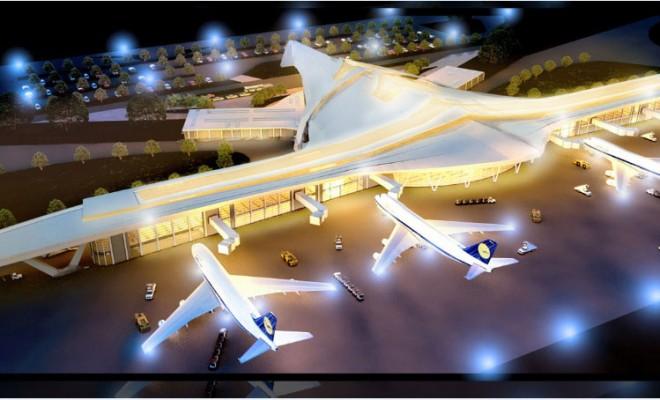 Airport Terminal Archviz