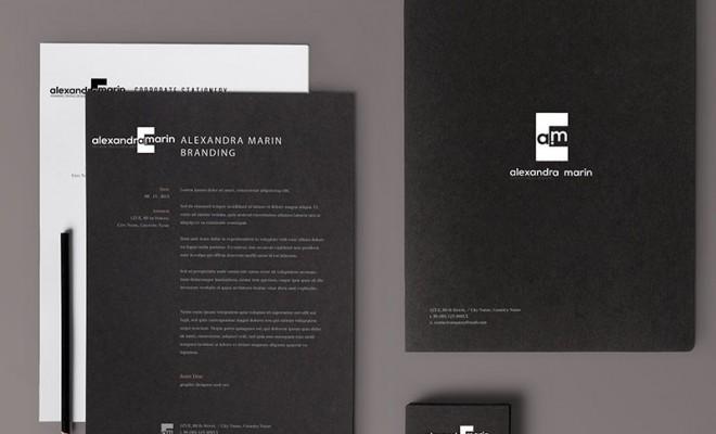 Branding Alexandra Marin