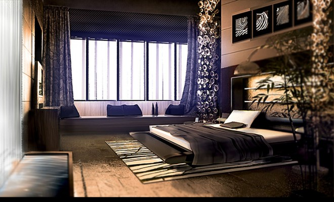 Modern Loft Conversion Archviz – Bedroom