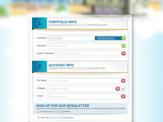 Signup Form – UI Design