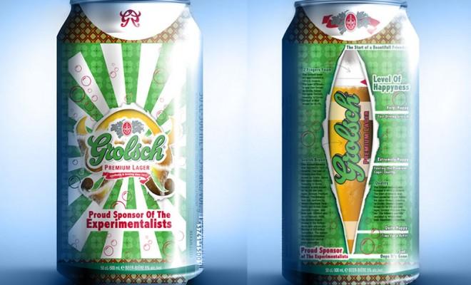 Beer Label Design – Grolsch
