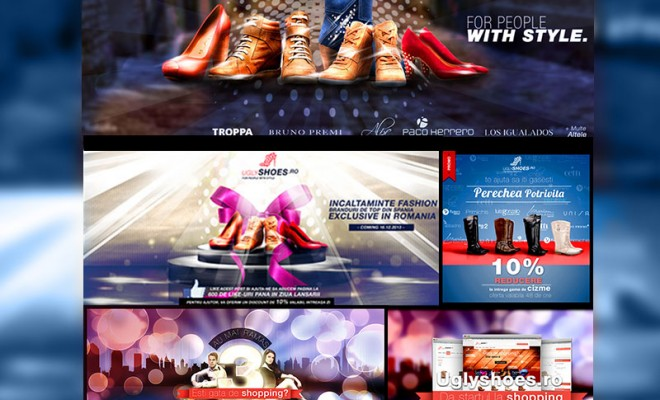 Uglyshoes – Online Marketing Design
