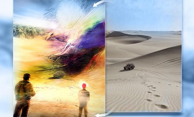 Phoenix – Artwork Before/After