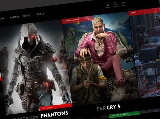 Ubisoft – Web UI