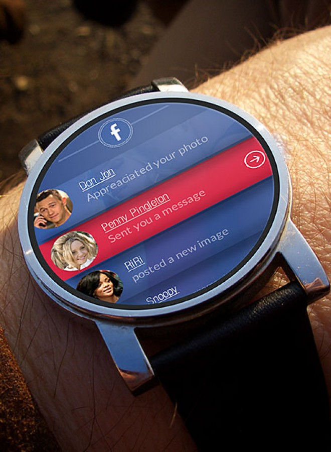 Facebook Smart Watch App