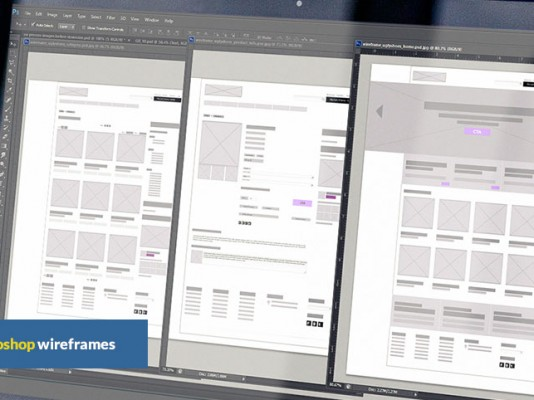 uglyshoes – wireframes