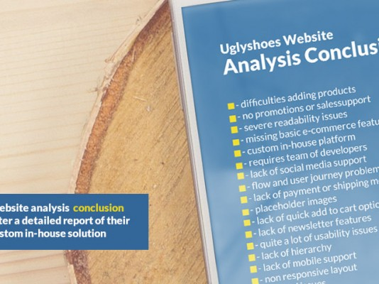 uglyshoes – website analysis